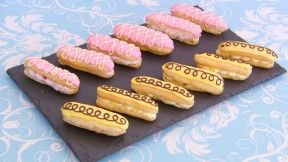Mary's Lemon and Raspberry Éclairs Recipe | PBS Food