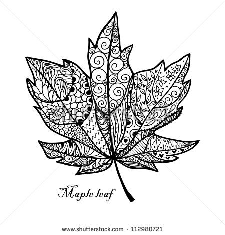 Maple leaf artistic