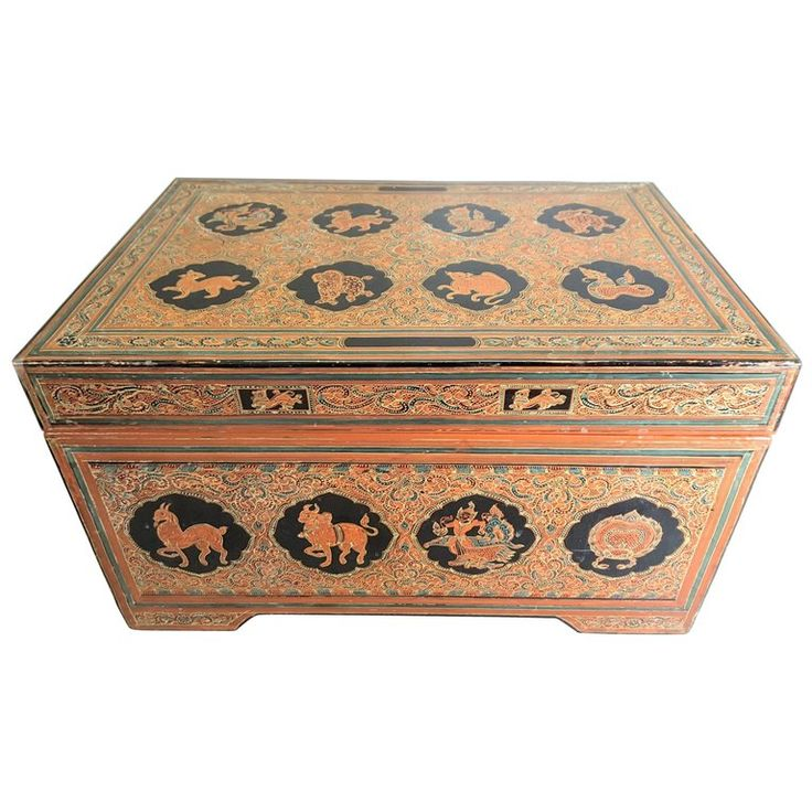 South East Asian Document/Storage Box For Sale