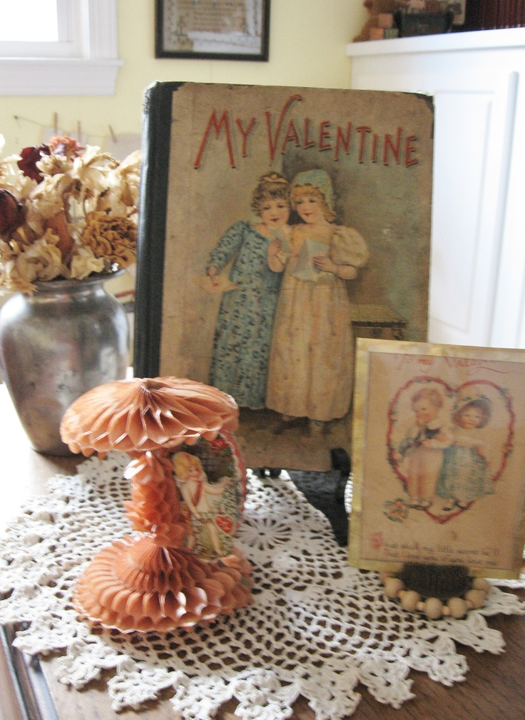 A Child's Book from the Past for Valentine's DayChildren Book