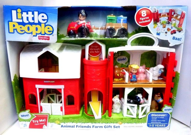 Little People 1997-Now 158744: Fisher Price Little People Animal Friends Farm Gift Set, New, Free Ship -> BUY IT NOW ONLY: $49.99 on eBay!