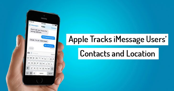 Apple Tracks Who You're Chatting Using iMessage — and Shares that Data with Police
