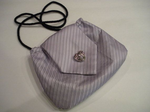 Necktie purse by madebysmiles on Etsy, $15.95