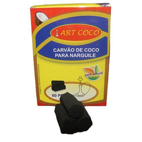 Carvão Narguile - Carvao Artcoco 1Kg