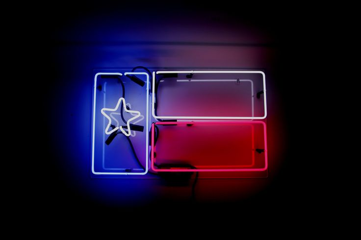 Show your irrational Texas pride with our Texas Flag Neon Our neon glass is handcrafted and filled with a mixture of noble gasses, then electrified to create that iconic neon glow. Each piece is a uni