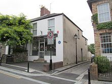 Mrs Pratchett's former sweet shop in Llandaff, Cardiff has a blue plaque commemorating the mischief a young Roald Dahl played on her by putting a mouse in the gobstoppers jar.[13]