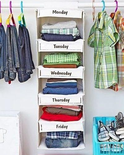 Att organisera kläder, skor och husgeråd kan plötsligt vara kul. Här är 17 smarta förvaringsknep som kommer att förändra ditt liv!