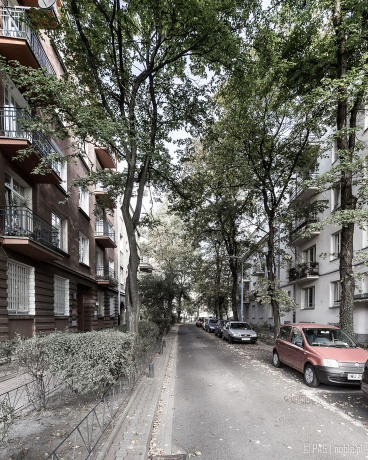 ulica Glogera, Stara Ochota, Warszawa