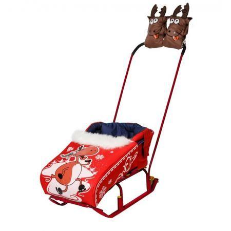 """RT Комплект для санок Новогодний олень  — 2351р. --------------- Комплект для санок """"Новогодний олень"""" красногоцвета марки RT для девочек. Комплект состоит из двух вещей: конверт-матрасик со съемной попоной с завышенной мягкой спинкой + теплые варежки для мамы. Комплект непромокаемый, утепленный, идеально подходящийдля комфортных зимних прогулок. Попона на молнии декорирована ярким нестирающимсяпринтом с изображением новогоднего оленя. Две варежки на кнопках в виде веселых оленей с…"""