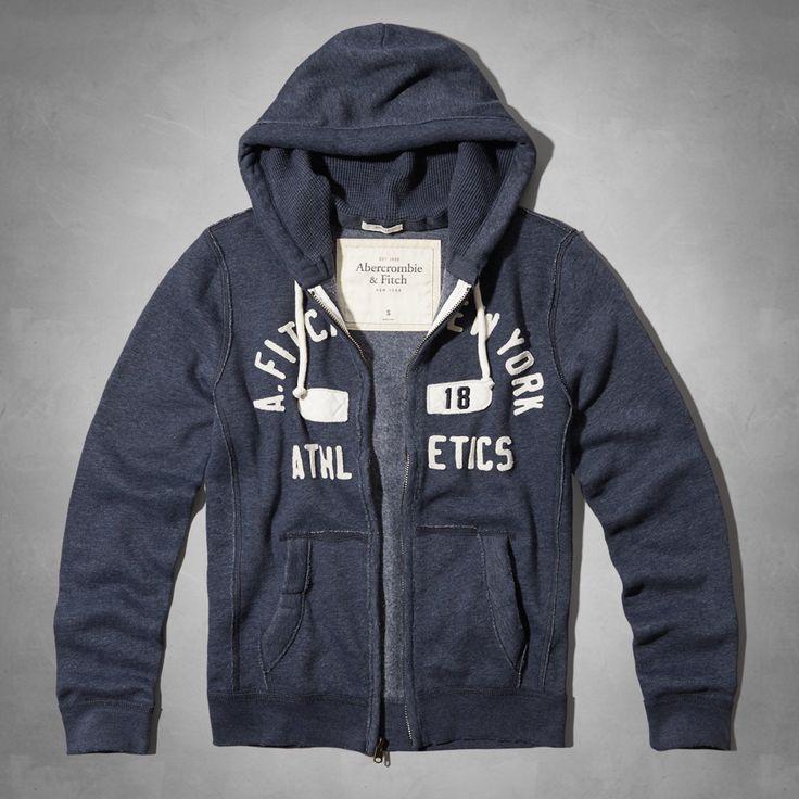 Mens Cold River Hoodie | Mens Hoodies & Sweatshirts | eu.Abercrombie.com