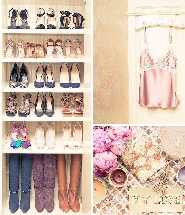 Organized Closet Pinterest