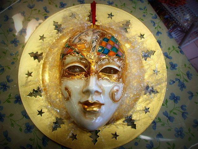 Volto decorato  Maskerelle di Roberta Carraro