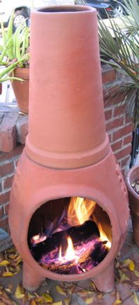 All About Chiminea Fire Pits  (Love the smell! Mmmmm To just sit and watch the fire sitting outside) NICE!!