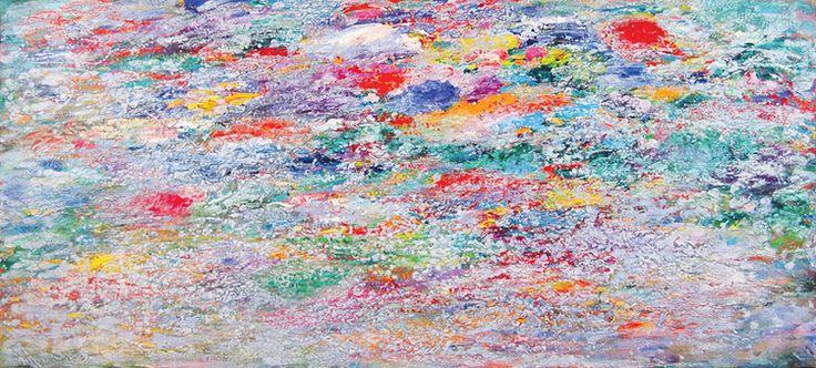 """Paul Fournier   """" Reef Shallows - Silver"""", 2008"""