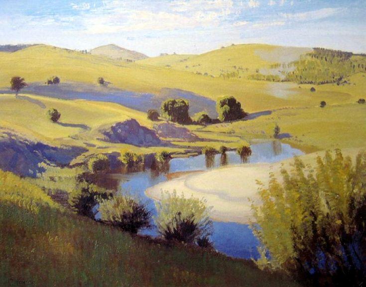 Canberra Landscape 1938 elioth gruner