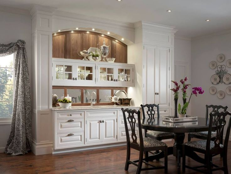 embrace your dining roomu0027s curves with custom cabinetry designs by woodmode http
