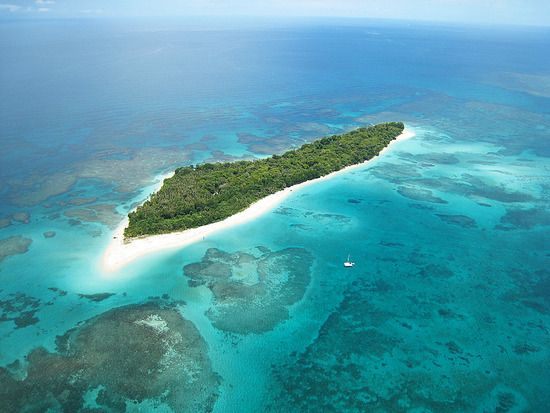One of the 360 islands that surround Bocas Del Toro, Panama. A must for any young traveler