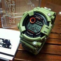 Jam tangan pria cowok sport Digitec DG2089t Fishmen warna cream original 100%