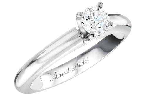 ASF - 003 Or et diamant disponible chez Marcel / André diamantaire www.marcelandre.com