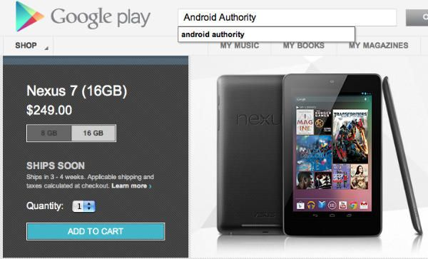 """Google Nexus 7 sold out after """"incredible demand"""" – where to buy the Jelly Bean tablet from? ~ Daily Android Tricks"""