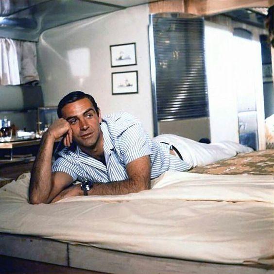Sean Connery as Bond.