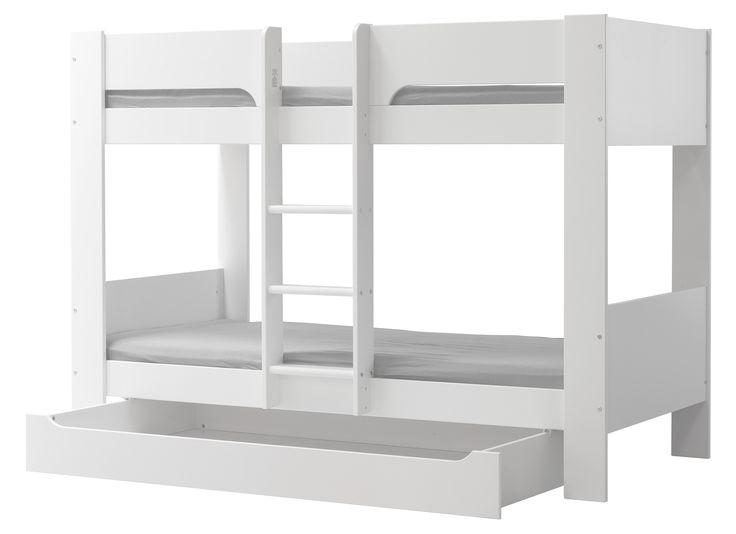 Flex kerrossänky 90x200, väri valkoinen