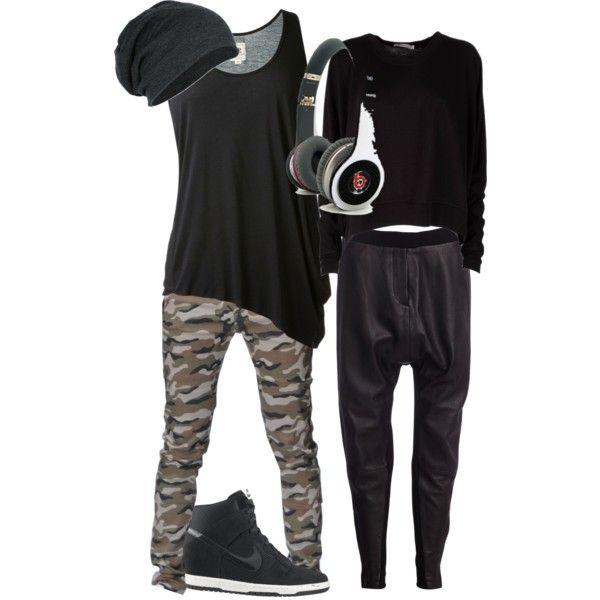 Hip- hop dance clothing