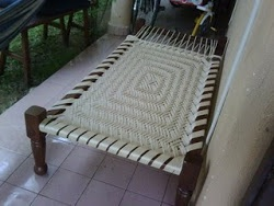 how to make a charpoy rope bed | tut's and todo's | Pinterest | DIY  furniture, Rattan and Colonial