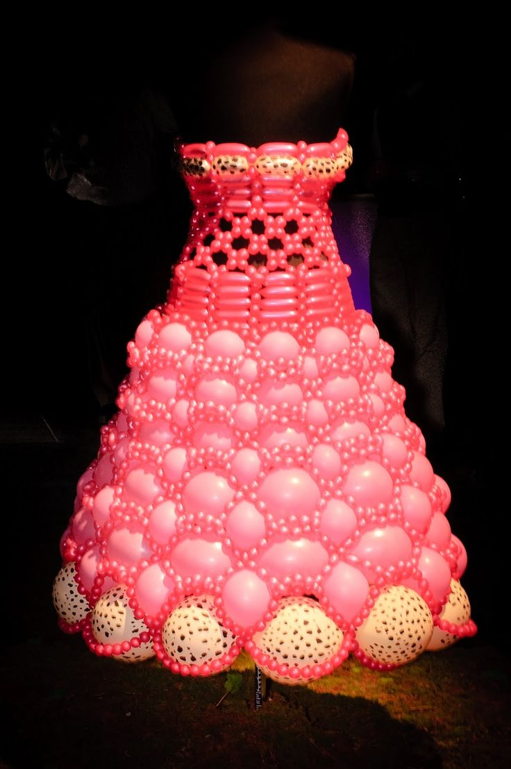 Pink Balloon Dress