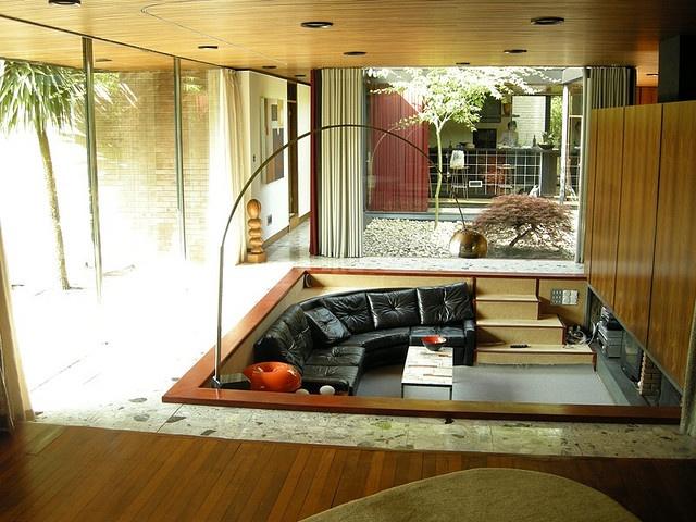 25 Best Ideas About Conversation Pit On Pinterest Miller House Architect Saarinen And Lounge