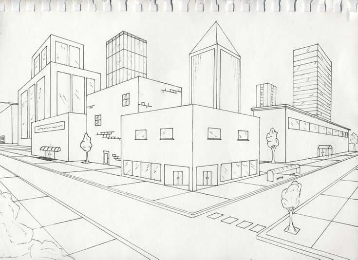 Learn to draw two point perspective.