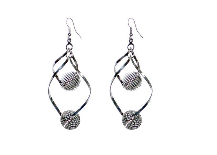 trendy antique drop earrings