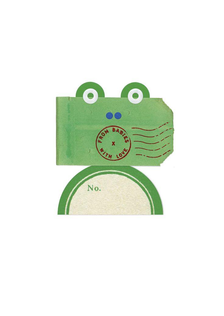 #AW15: Frog - design inspired by #vintagepostalmaterials sourced from Parisian flea markets #postalephemera #kidsfashion #buysocial #babyclothes #babygifts #organiccotton