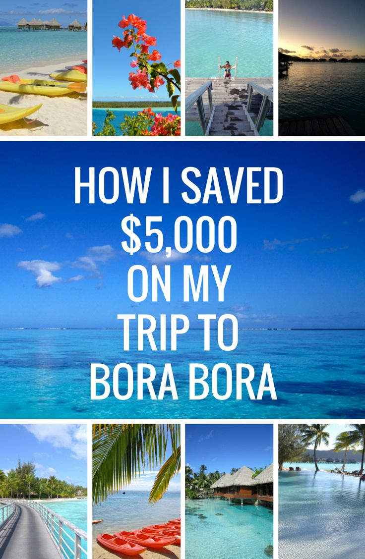 how to travel from fiji to bora bora