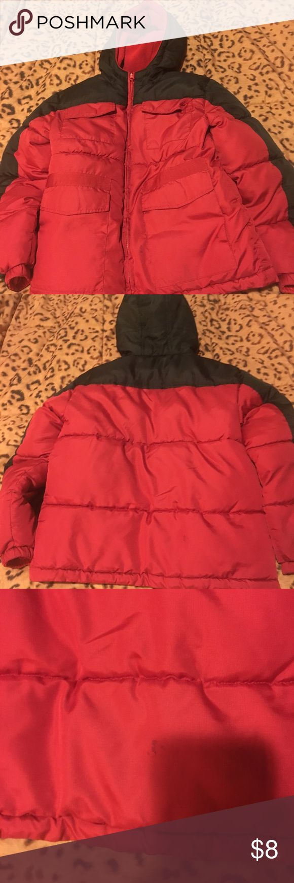Boys jacket Boys jacket Faded glory size 8 Has some black spots on front and some on back not bad but just wanted to point out see pictures Jackets & Coats