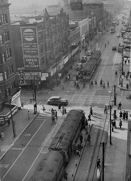 East 105th Street in cleveland ohio in 1960 | ... on ...
