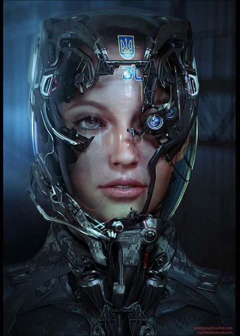 Space helmet. Like this, except with Iron Man display sort of stuff and a mask over of the nose and mouth.