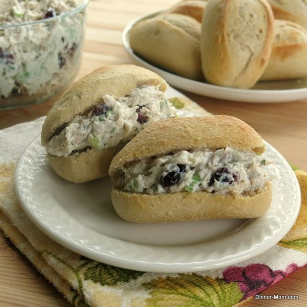 Tarragon-Chicken-Salad-with-Cranberries | cooking up a storm... of de ...