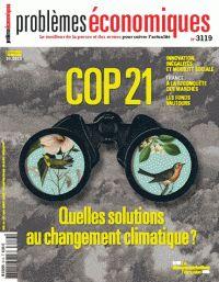 Problèmes économiques N° 3119 : Le changement climatique.