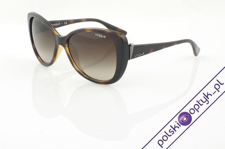 Okulary przeciwsłoneczne damskie Vogue VO 2819S W656/13  #okulary #glasses #eyewear #eyeglasses #oprawki #vogue