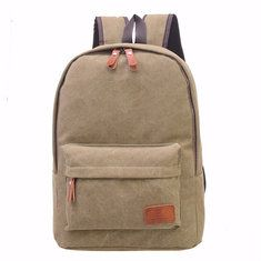Men Women Vintage Backpack PU Leather Laptop bags School Bag Shoulder Bags Online - NewChic Mobile