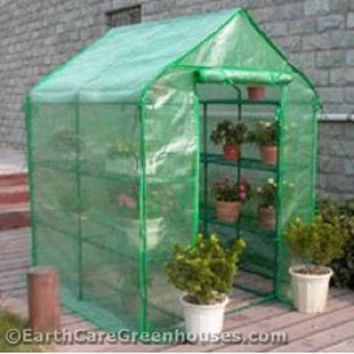The EarthCare Portable Greenhouse Kit has become one of the best selling portable greenhouses in the home gardening market today. Our Customers love this greenhouse. And not just just because it's a perfect greenhouse for the hobby gardener with limited space. It's also very affordable and extremely easy to setup and take down. Made with a steel structure and covered with a durable polyeurothene green-mesh fabric.