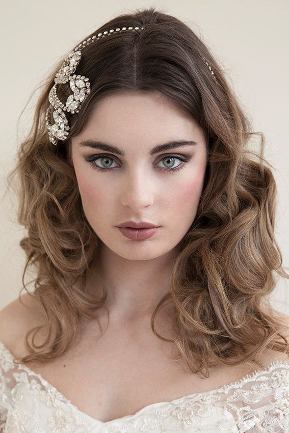 Beautiful Dark Blonde Light Brown Hair Wedding Hairstyle