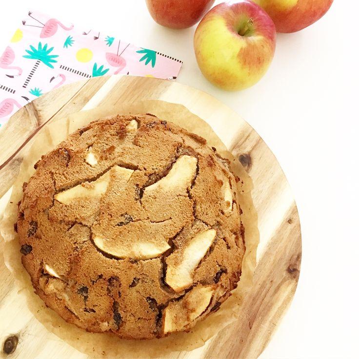 Appelcake met kokosmeel