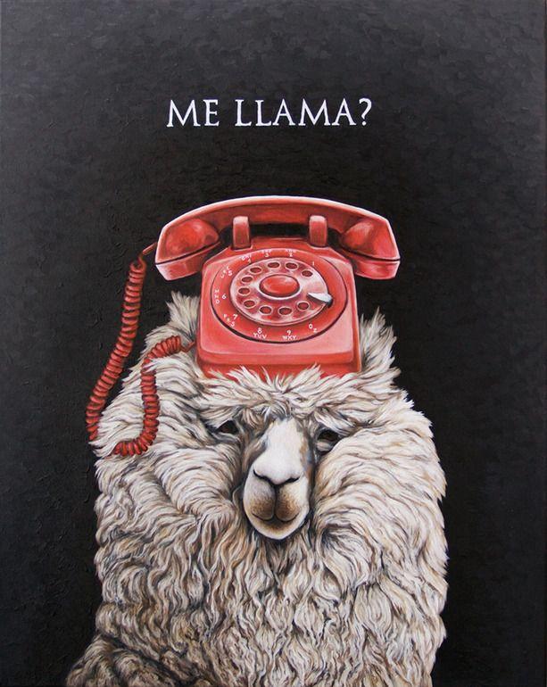 "Saatchi Art Artist: christian ruiz berman; Oil Painting ""Me Llama?"""