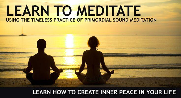 Chopra Instructor Central Ohio - Primordial Sound Meditation