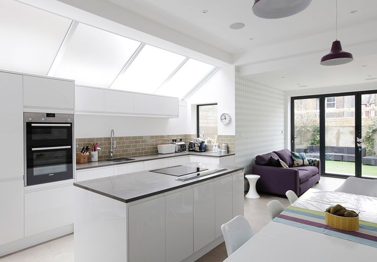 London kitchen design and fittings, extensions and side returns
