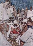 Christmas illustrations, from The Night Before Christmas by ...  by Arthur Rackham