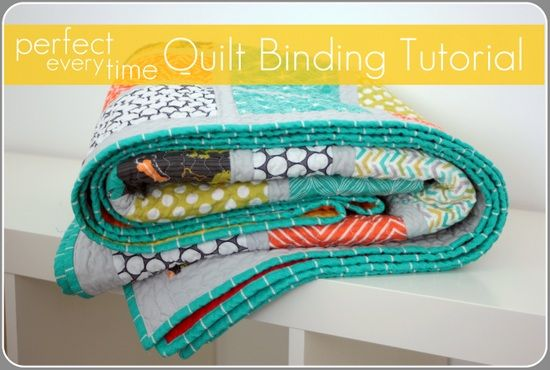 *TUTORIAL* Perfect Every Time Quilt Binding