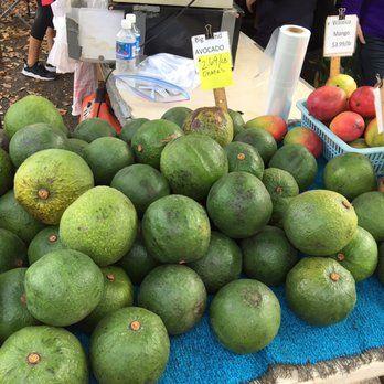 Photo of KCC Farmers' Market - Honolulu, HI, United States. Huge Avocados!!